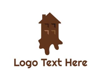 Chocolate - Chocolate House logo design