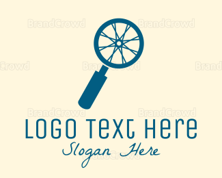 Zoom - Search Wheel  logo design