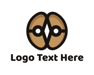 Coffee - Coffee Beans logo design