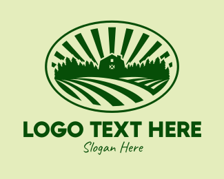 Farmhouse - Farm House Field  logo design