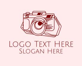 Camera - Retro Photography Camera logo design