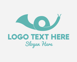 Speaker - Snail Speaker logo design