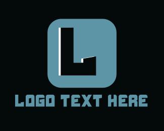 Innovative - Tech Application Lettermark logo design