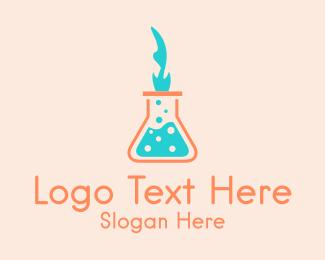 Chemist - Medical Laboratory Chemist logo design