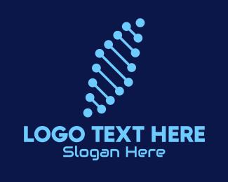 Telco - Digital Tech Connection  logo design