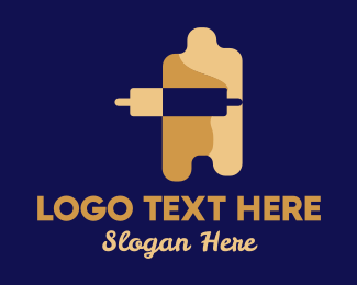Board - Rolling Pin Dough  logo design