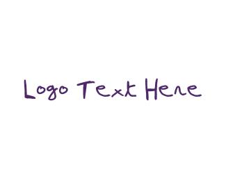 Wordmark - Kid Wordmark logo design