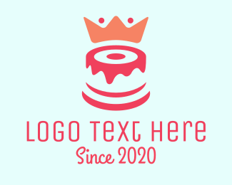 Cake - Cake King logo design