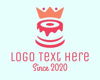 Cake - Cake King logo design