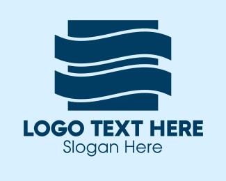 Waves - Blue Waves Company logo design