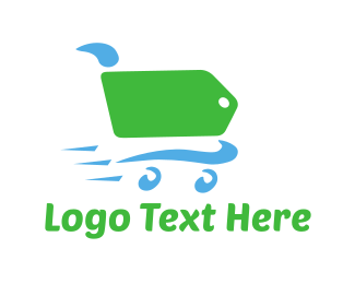 Trolley - Label Cart logo design