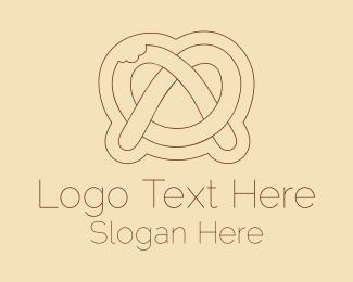 Minimalist - Minimalist Pretzel logo design