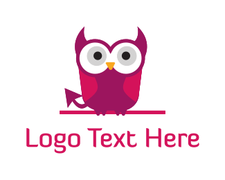 Anime - Devil Owl logo design