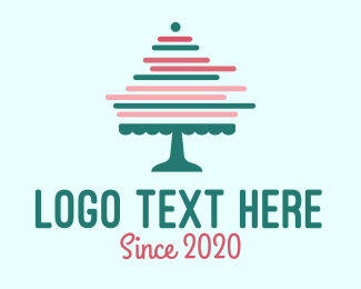 Cake - Minimalist Cake logo design
