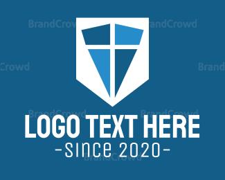 Christian - Religion  Cross  logo design