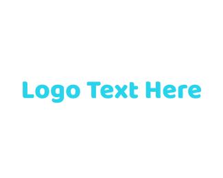 Twitter - Happy Green Wordmark logo design