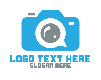 Forums - Social Media Camera logo design