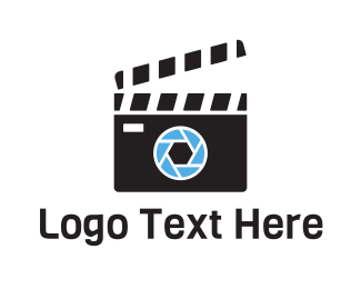 Tv Series - Camera Cut Film logo design
