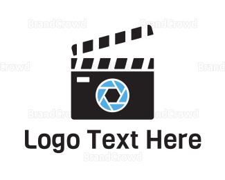 Celebrity - Camera Cut Film logo design