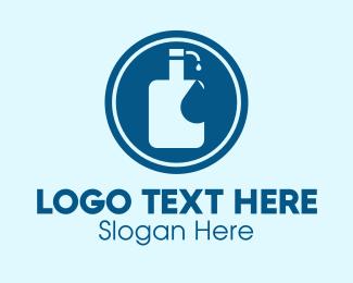 Soap - Liquid Soap Hand Sanitizer logo design