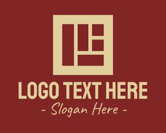 Shapes - Brown Brick Wall logo design