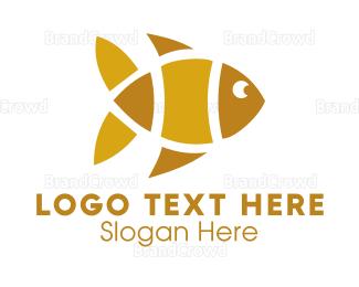 Yellow - Yellow Fish logo design