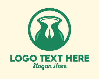 Dairy Farmer - Pistachio Nut Milk logo design