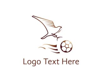 Football - Eagle Football Club logo design