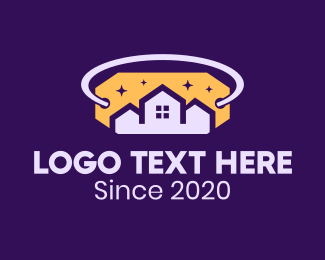 Nighttime - Housing Night Price Tag logo design