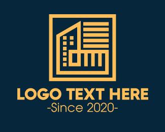 Building - Structure City Buildings logo design