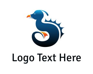 Beast - Sea Monster logo design