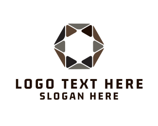 """Hexagonal Star"" by LogoBrainstorm"