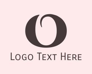 Letter O - Round Elegant Letter O logo design