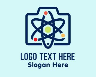 Atom - Atomic Briefcase logo design