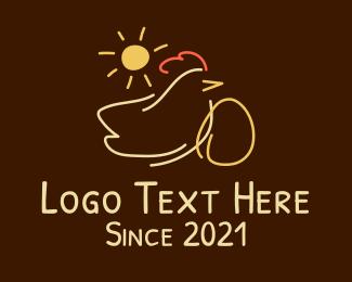 Poultry - Poultry Chicken Farm logo design