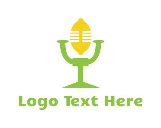 Podcast - Lemon Talk logo design