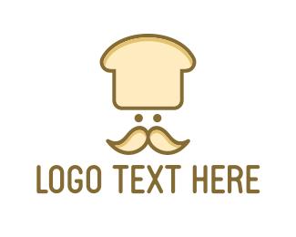 Baker - Loaf Chef logo design