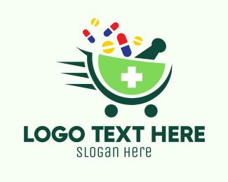 Pharmaceutic - Modern Medicine Delivery logo design