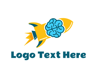 Rocket - Smart Rocket logo design