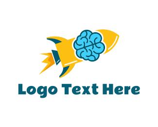 Brilliant - Smart Rocket logo design
