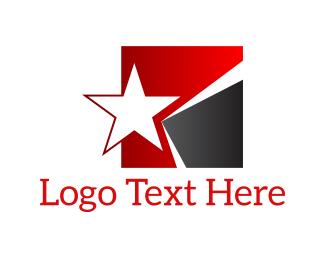 Politics - Star Square logo design