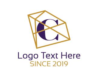 Lettering - Elegant Jewelry Letter C logo design