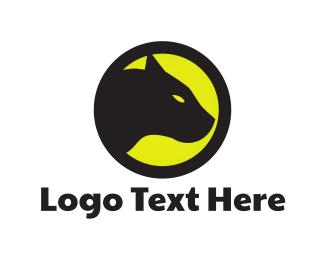 Panther - Black Feline logo design
