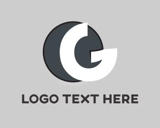 Crackers - White Letter G logo design