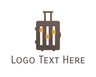 Music - Music Baggage logo design