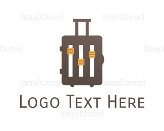 Music Equipment - Music Baggage logo design