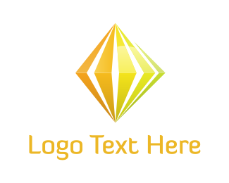 Energy - Yellow Diamond logo design