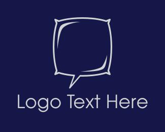 Nap - Night Chat logo design