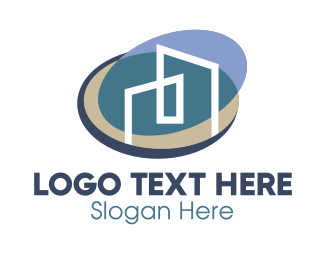 Real Estate - Real Estate Company Buildings logo design