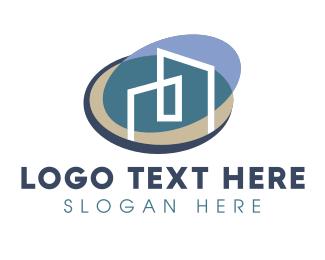 Architect - Real Estate Company Buildings logo design